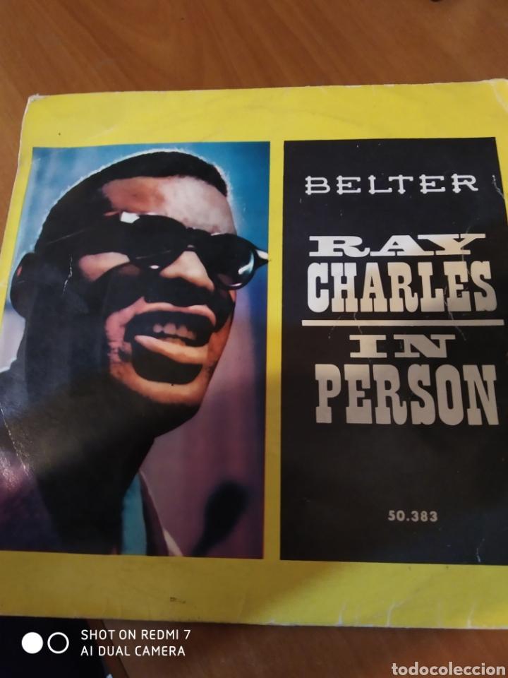 RAY CHARLES IN PERSON. (Música - Discos de Vinilo - EPs - Jazz, Jazz-Rock, Blues y R&B)