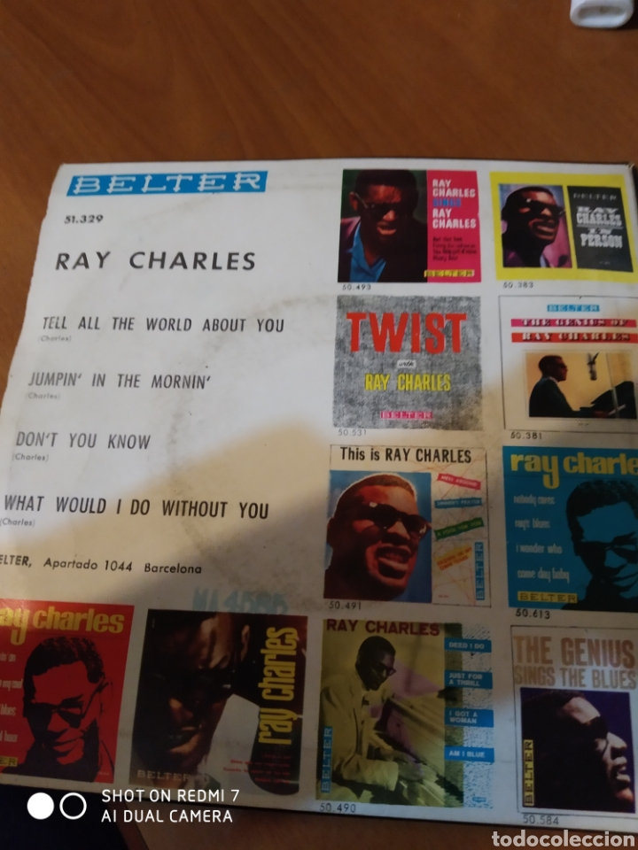 Discos de vinilo: Ray Charles. Tell all the world about you. - Foto 3 - 206542171