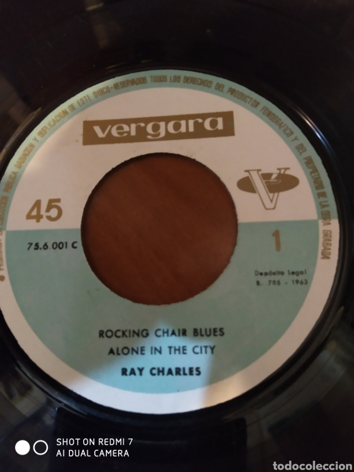 Discos de vinilo: Ray Charles. Alone in the city. - Foto 2 - 206542667