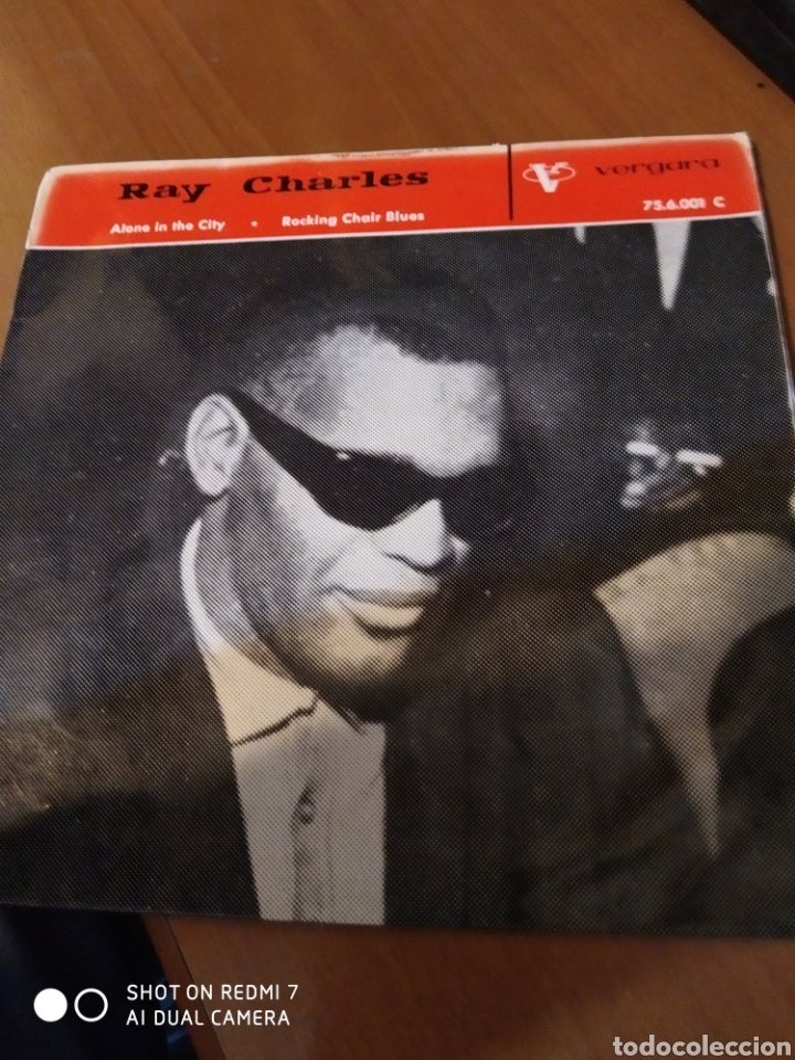 RAY CHARLES. ALONE IN THE CITY. (Música - Discos de Vinilo - EPs - Jazz, Jazz-Rock, Blues y R&B)