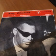 Discos de vinilo: RAY CHARLES. ALONE IN THE CITY.. Lote 206542667