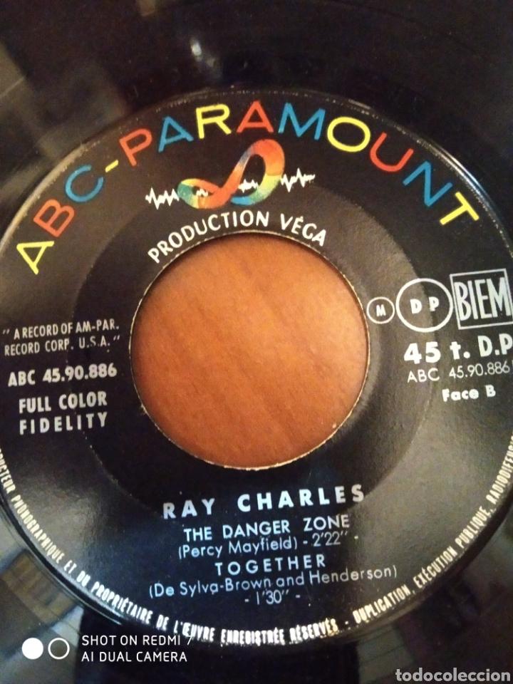 Discos de vinilo: Ray Charles. Hit the road jack. The danger zone. - Foto 2 - 206543411