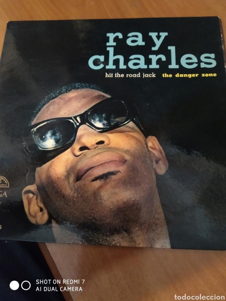RAY CHARLES. HIT THE ROAD JACK. THE DANGER ZONE. (Música - Discos de Vinilo - EPs - Jazz, Jazz-Rock, Blues y R&B)