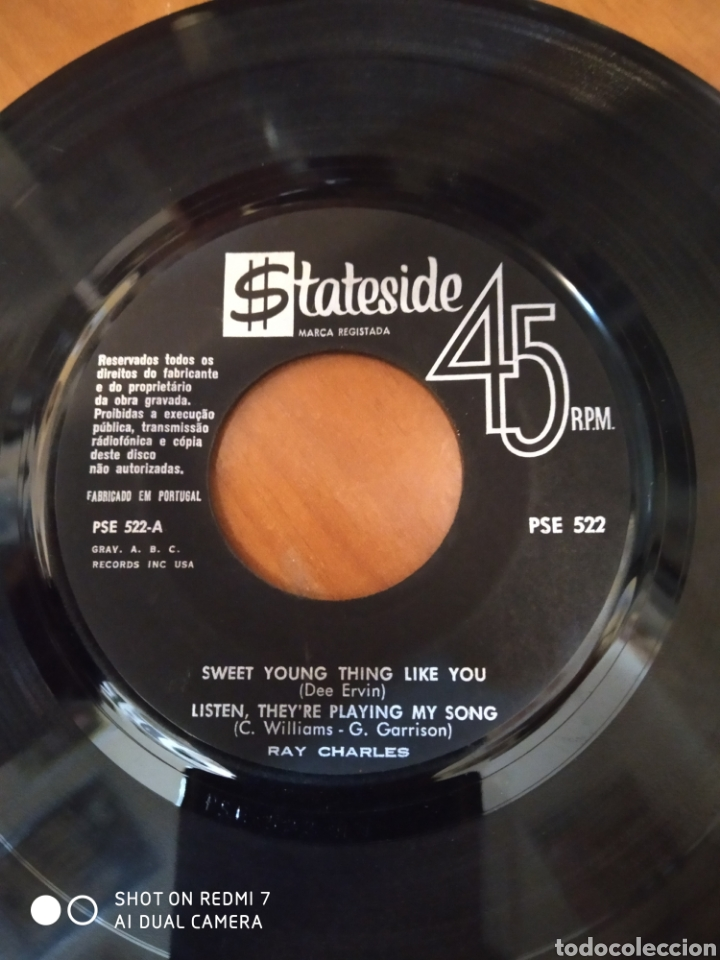 Discos de vinilo: Ray Charles. Sweet young thing like you. - Foto 2 - 206544882