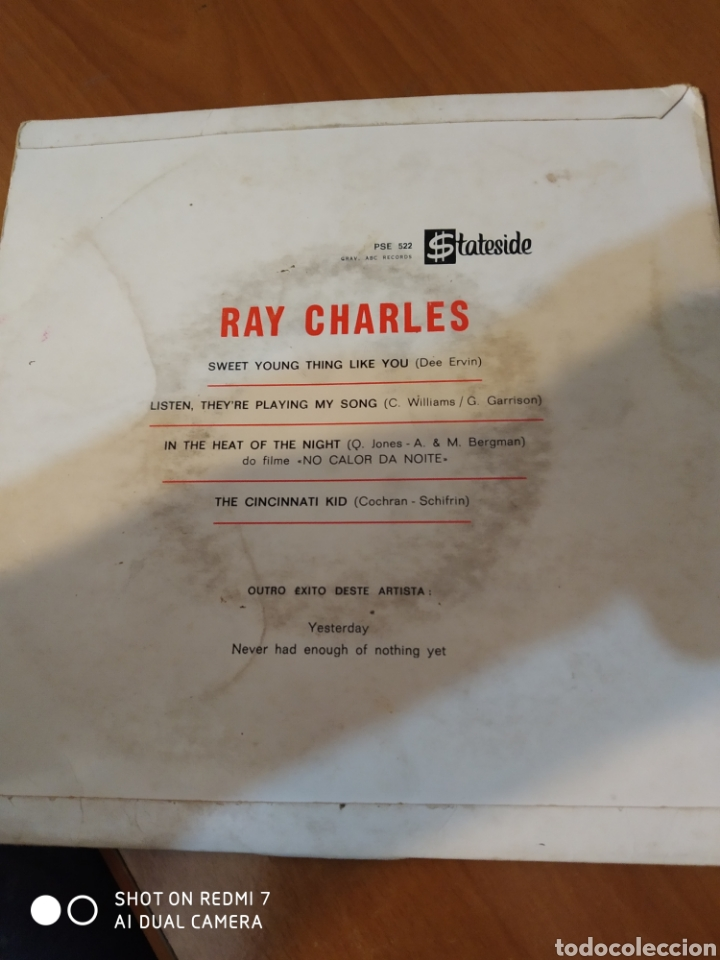 Discos de vinilo: Ray Charles. Sweet young thing like you. - Foto 3 - 206544882