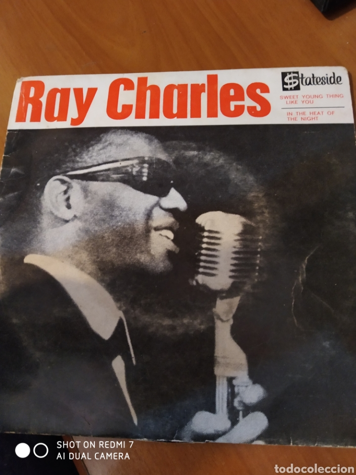 RAY CHARLES. SWEET YOUNG THING LIKE YOU. (Música - Discos de Vinilo - EPs - Jazz, Jazz-Rock, Blues y R&B)