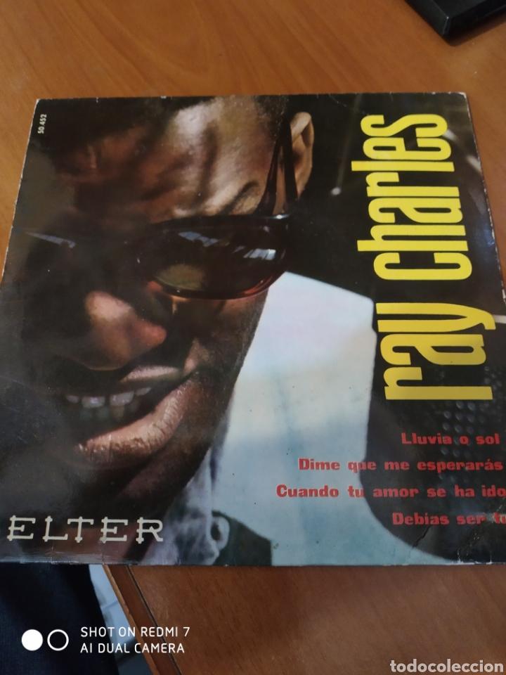 RAY CHARLES. LLUVIA O SOL (Música - Discos de Vinilo - EPs - Jazz, Jazz-Rock, Blues y R&B)