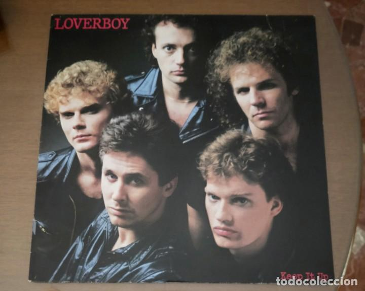 LP LOVERBOY KEEP IT UP 1983 STEREO (Música - Discos - LP Vinilo - Pop - Rock - New Wave Extranjero de los 80)