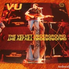 Discos de vinilo: THE VELVET UNDERGROUND LP VU VERVE CLUB ED. REEDICIÓN ESPAÑA 1990. Lote 206546621