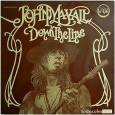 Discos de vinilo: JOHN MAYALL - DOWN THE LINE, LP DOBLE FIRST PRESS. Lote 206546867