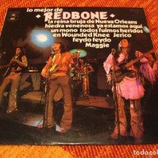 Discos de vinilo: REDBONE LP LO MEJOR DE EPIC ESPAÑA 1973 CLUB EDITION LAMINADA. Lote 206547087