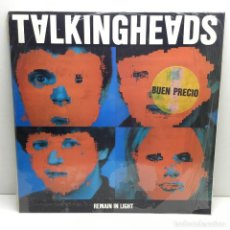 Disques de vinyle: LP - DISCO - VINILO - TALKING HEADS - REMAIN IN LIGHT - CON PLÁSTICO ORIGINAL - AÑO 1984. Lote 206549073