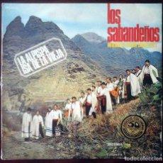 Discos de vinilo: LOS SABANDEÑOS. ANTOLOGÍA DEL FOLKLORE CANARIO VOL. 2. LA ALPISPA. ISA DE LA VIEJA.. Lote 206550717