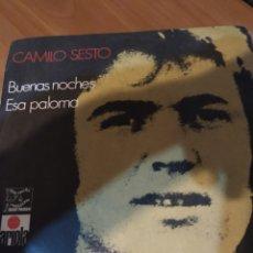 Discos de vinilo: CAMILO SEXTO. BUENAS NOCHES.. Lote 206553628
