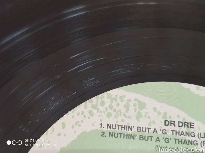"""Discos de vinilo: JOYA, DR. DRE, LP ORIGINAL, NUTHIN BUT A """"G"""" THANG, ÚNICO - Foto 12 - 206553802"""