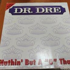 """Discos de vinilo: JOYA, DR. DRE, LP ORIGINAL, NUTHIN' BUT A """"G"""" THANG, ÚNICO. Lote 206553802"""