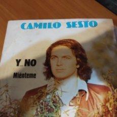 Discos de vinilo: CAMILO SEXTO. Y NO....MIENTEME.. Lote 206553895