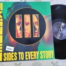 Discos de vinilo: EXTREME SIDES TO EVERY STORY ALBUM CON2 LPS Y ENCARTE 1992 SPAIN COMO NUEVO VER MAS INFORMACION. Lote 206554876