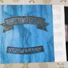 Discos de vinilo: BPN JOVI NEW JERSEY LP 1988 SPAIN EXCELENTE VER MAS INFORMACIÓN. Lote 206555312