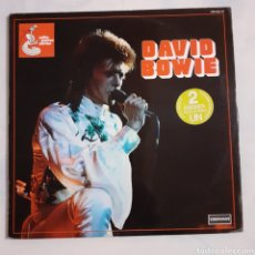 Discos de vinilo: DAVID BOWIE. 2 LP. GATEFOLD. DERAM 278 513/14. FRANCIA 1975. FUNDA VG+. DISCOS VG+ VG+. Lote 206556218