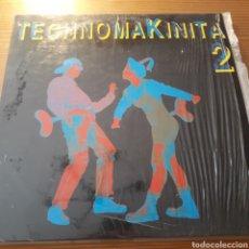 "Discos de vinilo: DISCO DE VINILO (DOBLE LP) ""TECHNOMAKINITA 2"". Lote 206556797"