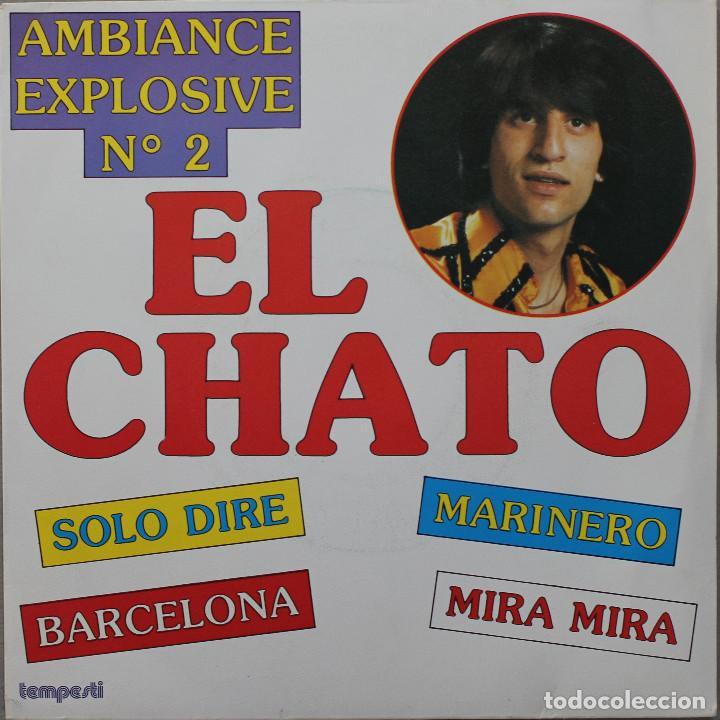 EL CHATO// BARCELONA+3// TEMPESTI FRANCE (Música - Discos de Vinilo - EPs - Solistas Españoles de los 70 a la actualidad)