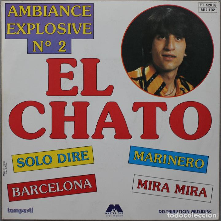 Discos de vinilo: EL CHATO// BARCELONA+3// TEMPESTI FRANCE - Foto 2 - 206558790