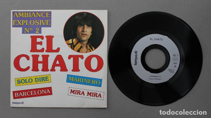Discos de vinilo: EL CHATO// BARCELONA+3// TEMPESTI FRANCE - Foto 3 - 206558790