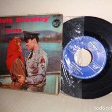 Discos de vinilo: ELVIS PRESLEY - TONIGHT,S ALL RIGHT FOT LOVE -EP DE 4 CANCIONES -RCA-M MADE IN FRANCE- 86,285 MEDIUM. Lote 206561790