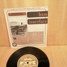 Discos de vinilo: BUM. INNERFACE. E.P. COMPARTIDO.. Lote 206562868