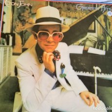 Discos de vinilo: ELTON JOHN – GREATEST HITS. DISCO VINILO. ESTADO NMINT/NMINT.1986. ENTREGA 24H. Lote 206563028