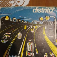 Discos de vinilo: DISTRITO 5. H.E.I.D.A.I... Lote 206563678