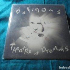 Discos de vinilo: MARC ALMOND. DELIRIUS / THEATRE OF DREAMS. BLUE STAR, 2005. UK. IMPECABLE. (#). Lote 206566221