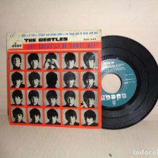 Discos de vinilo: THE BEATLES - QUE NOCHE LA DE AQUEL DIA - 1964- EMI ODEON - BCN-. Lote 206562447