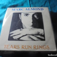Discos de vinilo: MARC ALMOND. TEARS RUN RINGS. PARLOPHONE, 1988. UK. IMPECABLE (#). Lote 206567100