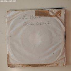Discos de vinilo: NT LOS BRAVOS - BLACK IS BLACK 1966 SPAIN SINGLE VINILO. Lote 206567308