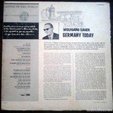 Discos de vinilo: WOLFGANG SAUER. GERMANY TODAY. EDICIÓN ALEMANIA.. Lote 206574208