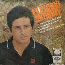 Discos de vinilo: RICHARD ANTHONY// A VECES ME PREGUNTO+3//EP// 1966// LA VOZ DE SU AMO. Lote 206577977