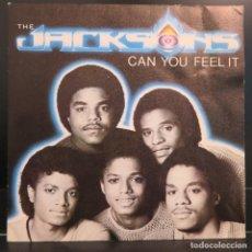 Discos de vinilo: THE JACKSONS SINGLE CAN YOU FEEL IT 1981. Lote 206578310