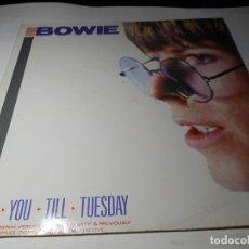 Discos de vinilo: LP - DAVID BOWIE – LOVE YOU TILL TUESDAY - 820 083-1 ( VG +/ VG +) GER 1984. Lote 206581697