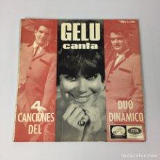 Discos de vinilo: EP - GELU - CANTA 4 CANCIONES DEL DÚO DINÁMICO (ESPAÑA, 1965). Lote 206589875