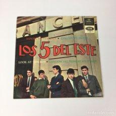 Discos de vinil: EP - LOS 5 DEL ESTE - NOCHE DE VERANO (ESPAÑA, 1965). Lote 206590286