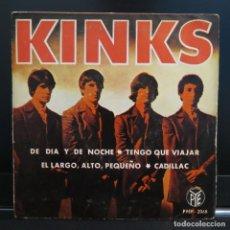 Discos de vinilo: THE KINKS EP DE DIA Y DE NOCHE 1965. Lote 206594636