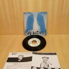 Discos de vinilo: LORD SICKNESS. WEST, 100 WOMEN IN 1 MAN, ETC EP.. Lote 206602347
