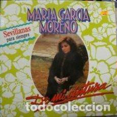 Discos de vinilo: LP MARIA GARCIA MORENO DE MI CINTURA. NUEVO. Lote 206639861