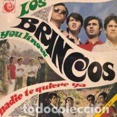Discos de vinilo: VINILO 7 LOS BRINCOS NADIE TE QUIERE YA -7 VINILO RSD 2019 -. NUEVO. Lote 206639866