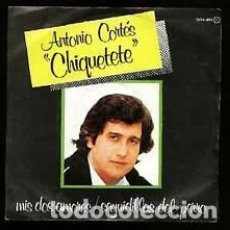Discos de vinilo: VINILO 7 CHIQUETETE MIS DOS AMORES/SEGUIDILLAS DEL PERRO. NUEVO. Lote 206639876