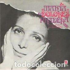 Discos de vinilo: VINILO 7 MARIA DOLORES PRADERA PALOMA LLEVALE/MILONGA PARA EL MARINERO. NE. Lote 206639886