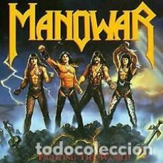 Discos de vinilo: LP MANOWAR FIGHTING THE WORLD. NUEVO. Lote 206639921
