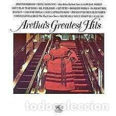 Discos de vinilo: LP ARETHA FRANKLIN GREATESTS HITS-VINILO. NUEVO. Lote 206639996